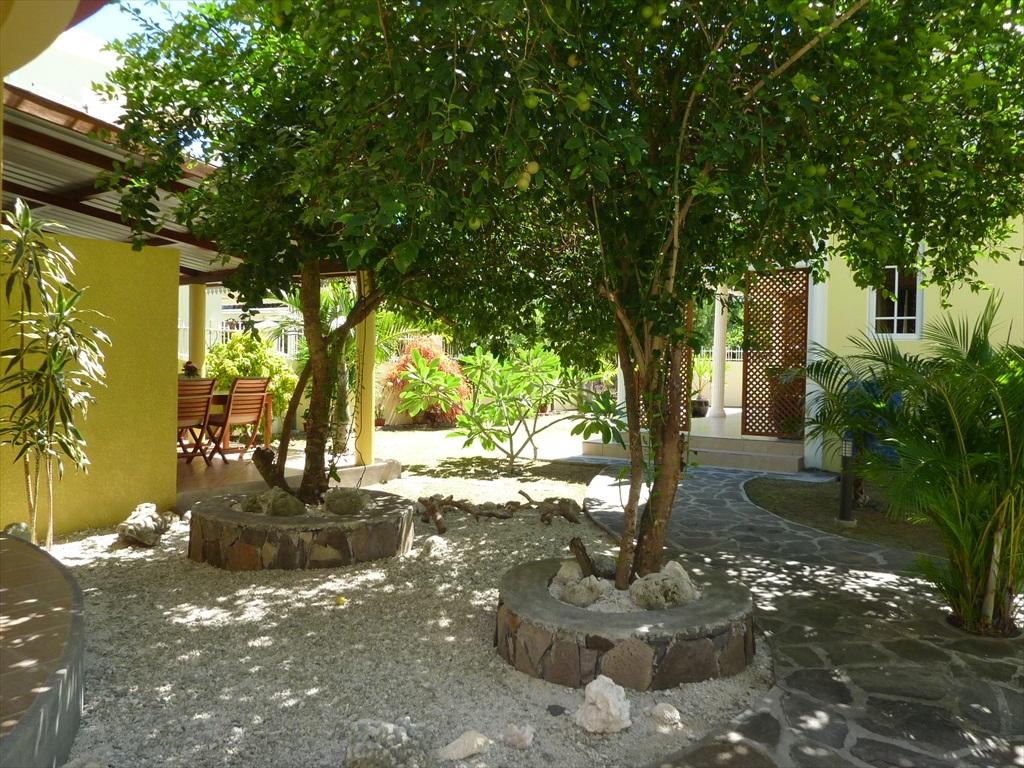 Photos jardin villa pandanus grand baie ile - Chambres d hotes ile rodrigues ...